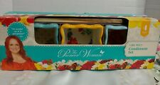 Pioneer Woman Floral Medley 4Pc Condiments Set