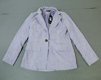 Nasty Gal Women's Girl In The Thunderbolt Suit Jacket LP7 Lilac Size US:4 UK:8