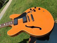 Gibson Memphis ES-335 Trackpack Combo Tascam Orange w/ COA