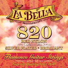 La BELLA 820 Elite flamenco rosso nylon corda di chitarra Flamenca/media tensione/