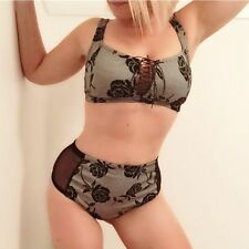 Lace Floral Wire Free Bras for Women