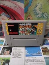 Super Nintendo SNES:Super Mario All-Stars [TOP & 1ERE EDITION] SEUL - Fr