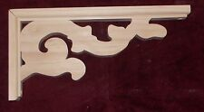 """Victorian Wood Gingerbread { 6"""" x 12"""" } Porch & House Trim Bracket #58 ~ by  PLD"""