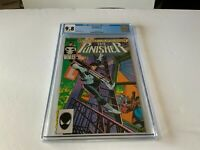 PUNISHER 1 CGC 9.8 WHITE PAGES MARVEL COMICS 1987 B