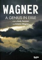 R. Wagner - Genius in Exile [New DVD]
