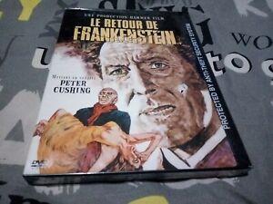 Le Retour de Frankenstein dvd region 1 Canada Peter Cushing.French/English sound