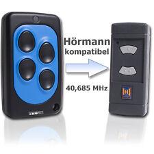 Handsender Hörmann und Dickert kompatibel HSE2 und HSM4 40,685 MHz graue Tasten