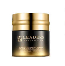 [Leaders] Insolution Black Caviar Cream 65g / Whitening & Wrinkle Care
