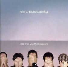 MATCHBOX TWENTY (MORE THAN YOU THINK YOU ARE - CD SEALED + FREE POST)