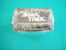 Star Trek 1991 25th Anniversary Trading Cards Collectors Tin SEALED