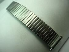 """Mens Vintage JB Champion Watch Band Stainless 17mm-22mm 11/16""""-7/8"""" Expansion"""