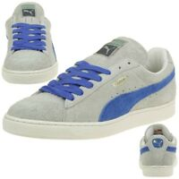 Puma Suede VNTG Vintage Herren Sneaker Schuhe Leder grau 353549 01