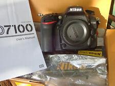 Nikon D D7100 24.1Mp Digital Slr Camera Body - Low Shutter count Loved!