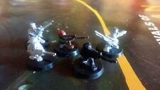 5 Metal Imperial Guard Ratling francotiradores-Warhammer 40K-GW-parte Pintado