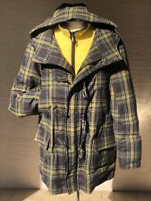 Etro New Mens Wool/Goose Down Parka/Coat US Size 2XL Made In Italy