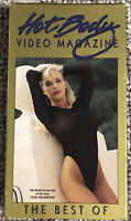 Hot Body Video Magazine - Best Of -  Rare Vintage VHS - OOP HTF Tested & Working