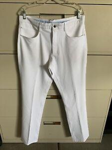 Footjoy Performance Pants Stretch 34x34 White