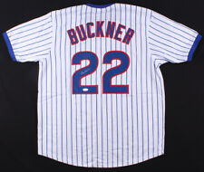 Bill Buckner Signed Chicago Cubs Pinstripped Pullover Jersey (JSA) Billy Buck !