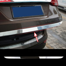 Xukey For Hyundai Santa Fe 2013-2017 Chrome Rear Trunk Tailgate Trim Molding