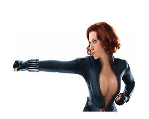 Sexy Scarlett Johansson - Marvel Black Widow Photo Poster / Canvas Picture Print
