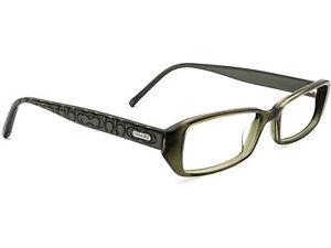 Coach Women's Eyeglasses Kensley 839 Olive Rectangular Frame 50[]16 135