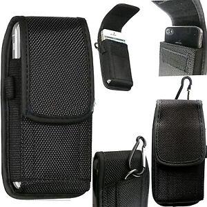 Universal Nylon Belt Hook Pouch Case Holster Fastenr Bag for Apple iPhone Models
