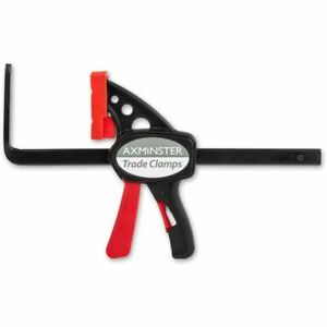 Axminster Trade Clamps Quick Action Guide Rail Clamp - 160 x 60mm
