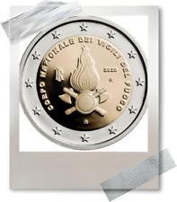 2 EURO *** Italy 2020 Italië *** Vigili del Fuoco ***  Brandweer Pompiers !!!