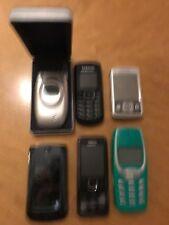 Job Lot of Used Retro Mobile Phones Nokia Sony Erickson Samsung Motorola