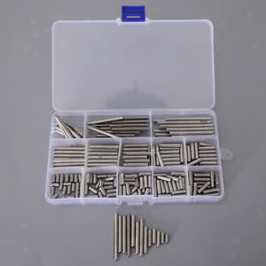 Slotted Spring Pin Assortment kits Split Spring Dowel Tension Roll Pins Set