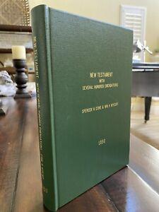 1745 New Testament William Whiston Rebound In Folio Facs Rare!