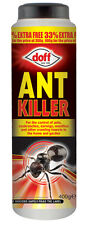 Doff Ant and Crawling Insect (Cockroach Earwig Woodlice) Killer Powder 400g