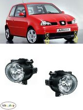 SEAT AROSA 6H 1997 - 2004 2X NEW FRONT FOG LIGHT LAMPS PAIR LEFT + RIGHT
