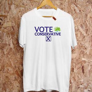 Abstimmung Konservative Party Allgemeine Wahl Tory Boris Johnson Brexit T-Shirt