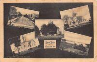 Postcard Multiple Views of Hamilton, Indiana~122675