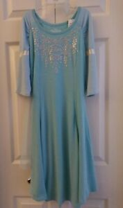 Disney Frozen Elsa Nightgown   XL  !4-16     NWT