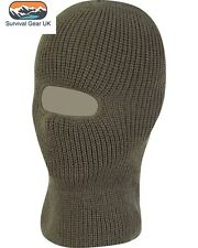 Green Knitted One Hole SAS Balaclava Army Hunting Winter Fishing Paintball Hat