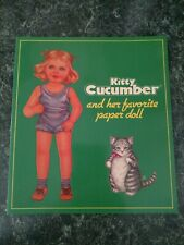 Kitty Cucumber And Her Favorite Paper Doll 1985 Book Unused