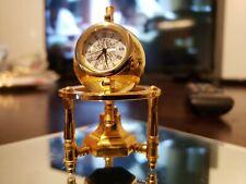 Bulova Miniature Clock PLANETARIUM Mini Collectible Clock Globe