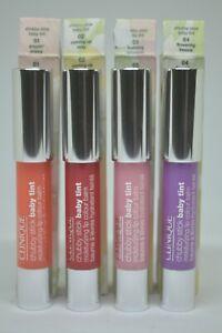 Clinique Chubby Stick Baby Tint Moisturizing Lip Colour Balm BNIB 0.08oz./2.4g