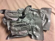 "Lot Of (5) Israeli 4"" Emergency Wound Dressing Compression Bandage Expires 2022"