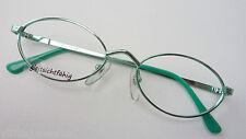 kleine Damenbrille mit ovale Glasform  mint-grün Metall 50-18 zierlich neu Gr. S