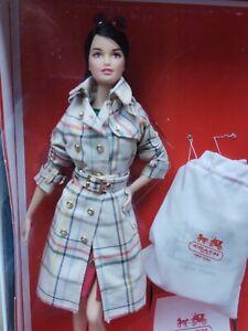 Coach Barbie Doll NRFB 2013 Designer Doll Collection Gold Label