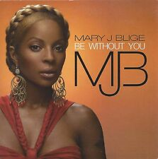 Mary J. Blige –  Be Without You    cd single in cardboard