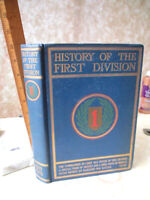 HISTORY Of The FIRST DIVISION 1917-1919,1922,Society of 1st Division,Illust