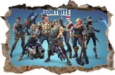 FORTNITE Wall Sickers HOLE IN THE WALL decorative sticker to the room 108