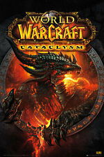 WORLD OF WARCRAFT CATACLYSM POSTER (61x91cm)  PICTURE PRINT NEW ART