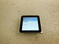 """Apple iPod nano A1366 8GB 6th Generation 1.54"""" Multi-touch Clip (Silver)"""