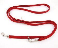 "HAMILTON European DT 5/8"" Nylon Multi-Use Dog Lead, Red"
