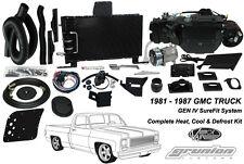 Vintage Air 1981-1987 GMC C1500 Sierra w/ AC Heat Defrost Air Conditioning Kit